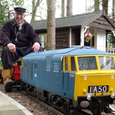 Pinewood Ride-on Train